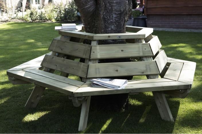 gartenm bel picknicktafel aus holz von zaun world stadtlohn. Black Bedroom Furniture Sets. Home Design Ideas